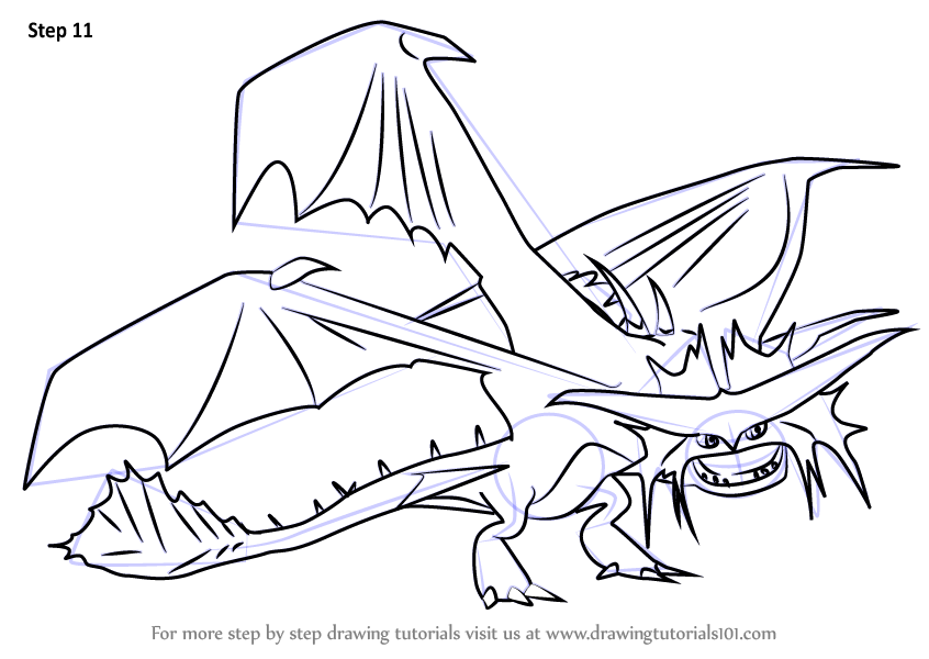 Learn How to Draw Cloudjumper from How to Train Your Dragon 2 How