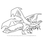 How to Draw Cloudjumper from How to Train Your Dragon 2