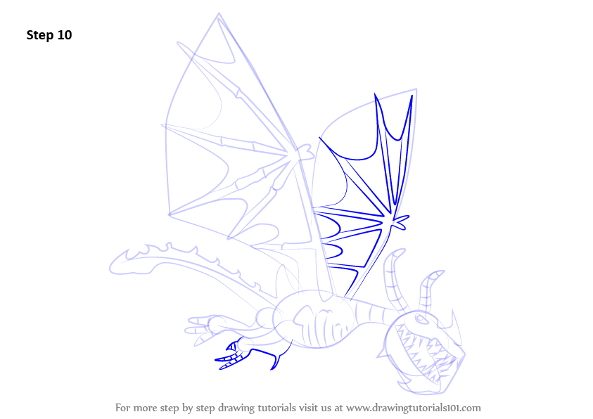 Learn How To Draw Boneknapper From Train Your Dragon