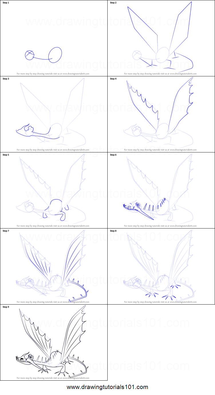 Learn how to draw changewing from how to train your dragon how to - How To Draw Changewing From How To Train Your Dragon Printable Step By Step Drawing Sheet Drawingtutorials101 Com