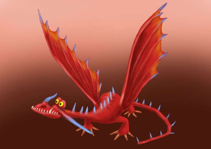 Learn How to Draw Changewing from How to Train Your Dragon ...