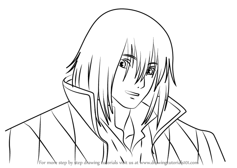 Step By Step How To Draw Howl From Howl S Moving Castle