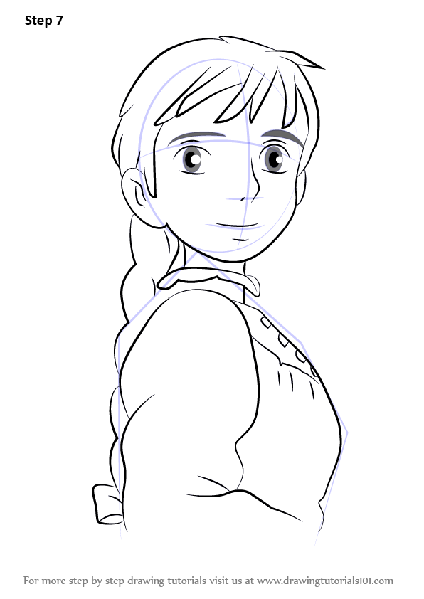 Learn How To Draw Sophie From Howl S Moving Castle Howl S