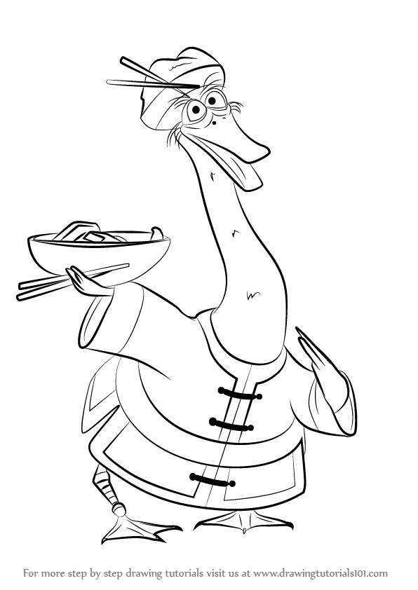 oogway coloring pages - photo#29