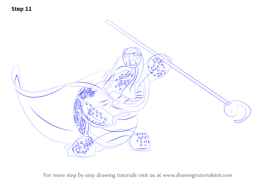 oogway coloring pages - photo#20