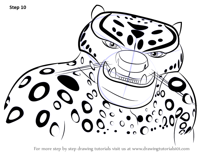Fine Kung Fu Panda Coloring Pages Tai Lung Pictures - Resume Ideas ...