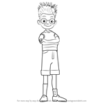 How to Draw Lewis from Meet the Robinsons