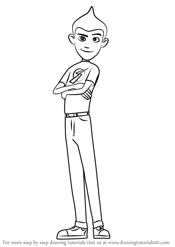 Learn How to Draw Wilbur Robinson