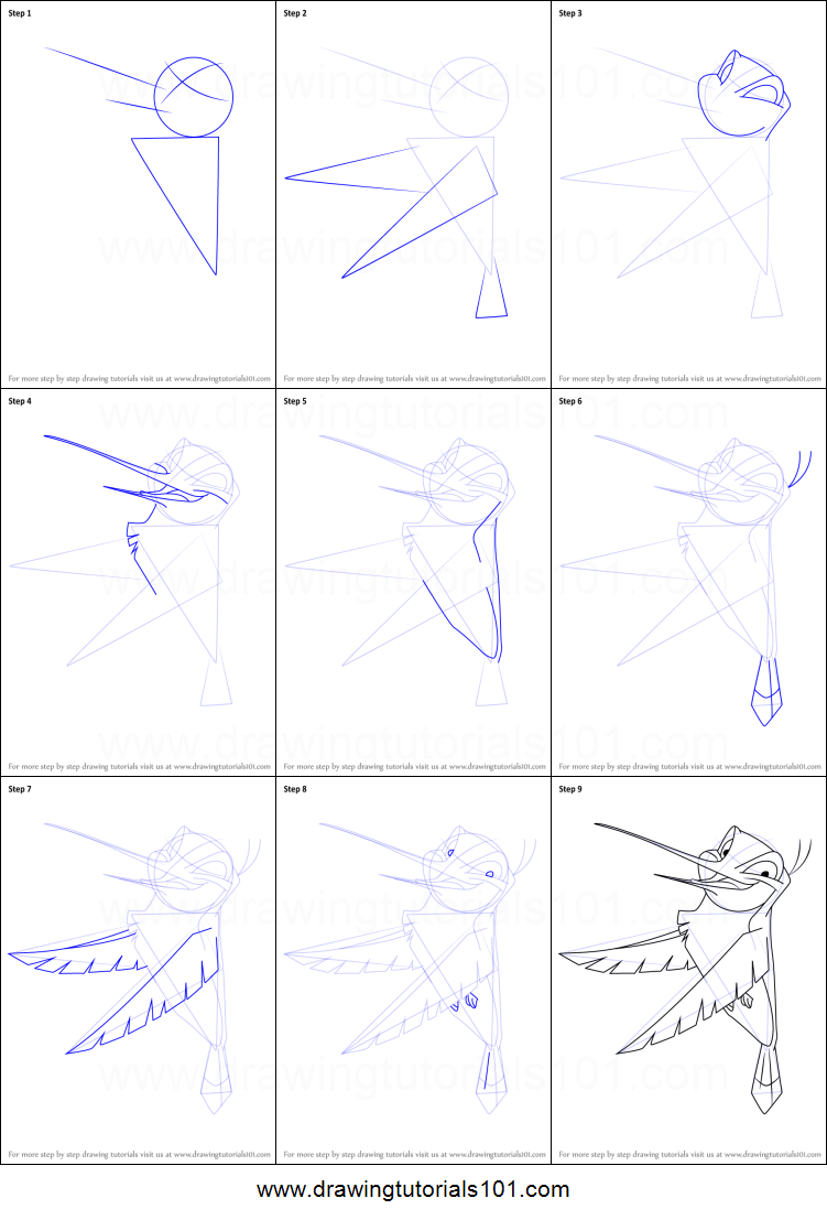 How to draw flit from pocahontas printable step by step for How to make doodle art