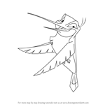 How to Draw Flit from Pocahontas