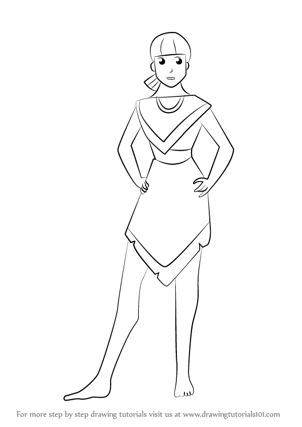Learn How To Draw Nakoma From Pocahontas Pocahontas Step