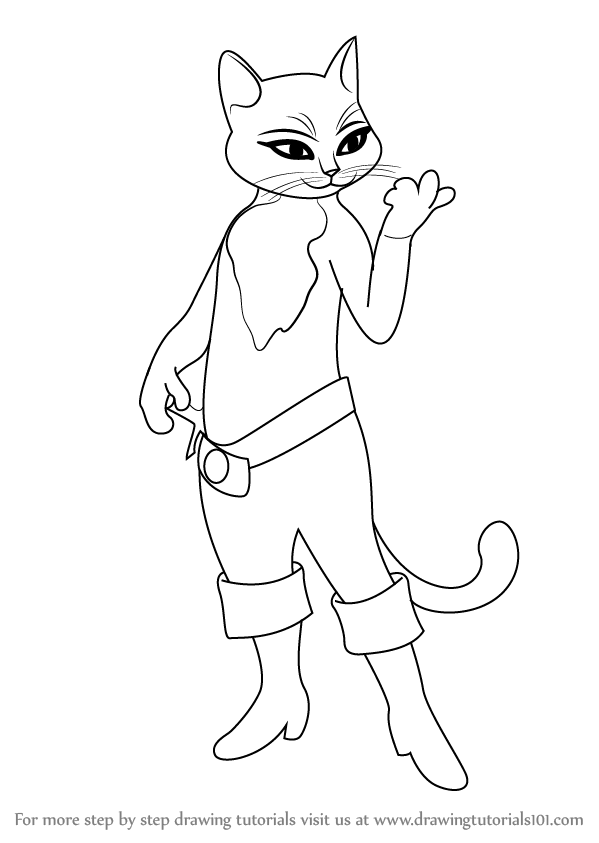 Puss In Boots Movie Coloring Pages Printable