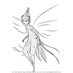 How to Draw Tooth Fairy from Rise of the Guardians