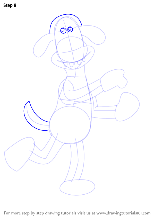 Learn How To Draw Bitzer From Shaun The Sheep Shaun The Sheep Step