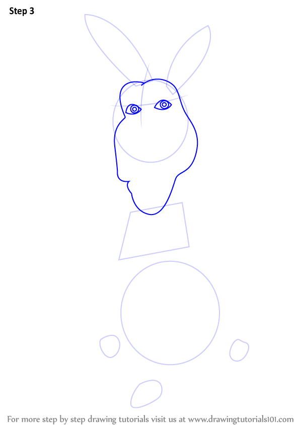 how to draw shrek step by step