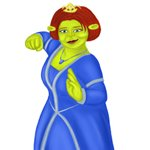 How to Draw Princess Fiona from Shrek