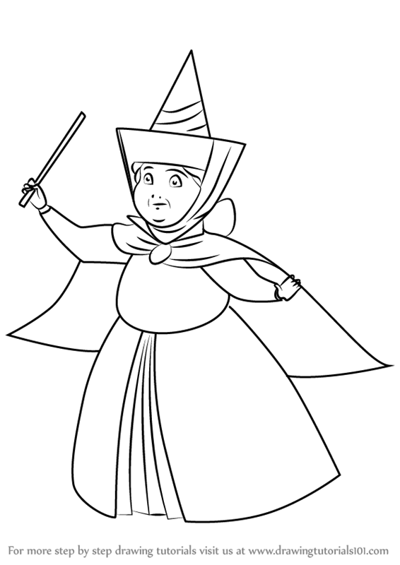Learn How to Draw Merryweather