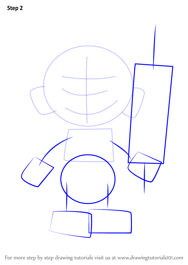 how to draw a villager