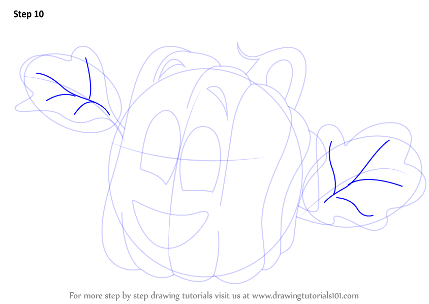 Step by step how to draw spookley from spookley the square for Spookley the square pumpkin coloring pages