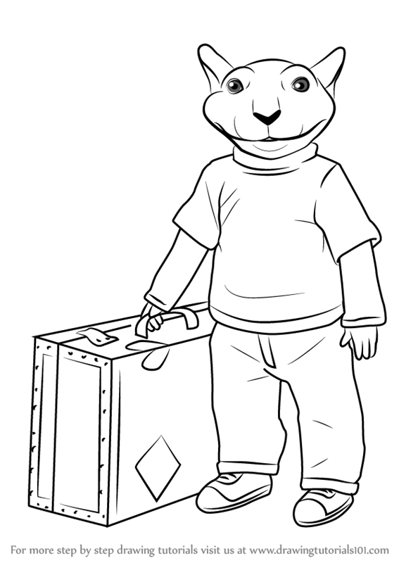 Learn How To Draw Stuart Little Stuart Little Step By