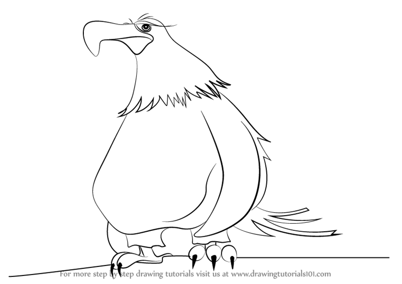 mighty eagle coloring pages - photo#10