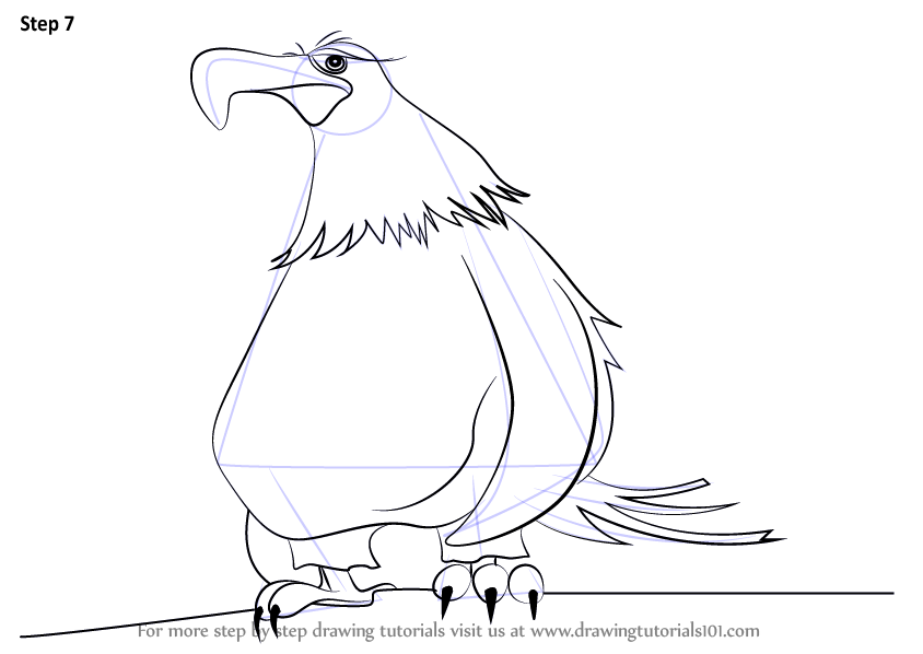 mighty eagle coloring pages - photo#17