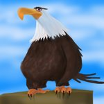How to Draw Mighty Eagle from The Angry Birds Movie