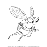 How to Draw Fly from The Ant Bully