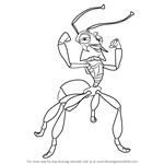 How to Draw Fugax from The Ant Bully