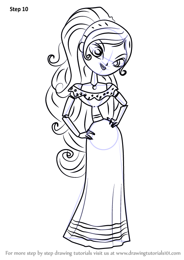Learn How to Draw Maria Posada from The Book of Life (The ...
