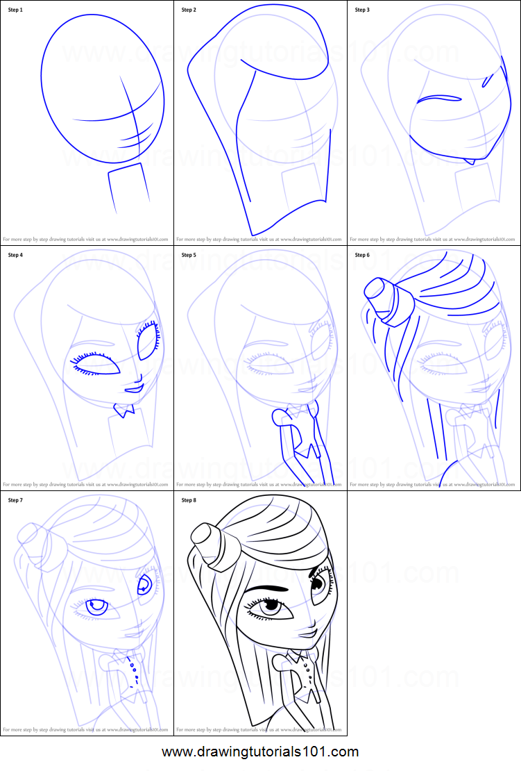 How To Draw Mary Beth From The Book Of Life