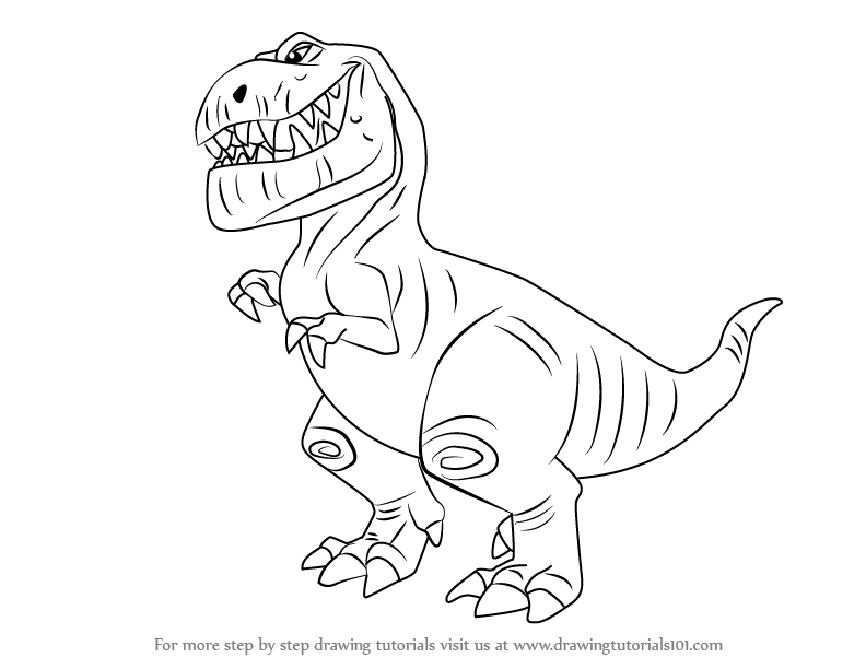 Learn How To Draw Butch From The Good Dinosaur (The Good