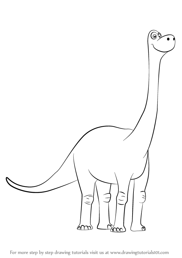 Learn how to draw libby from the good dinosaur the good for How to draw good sketches