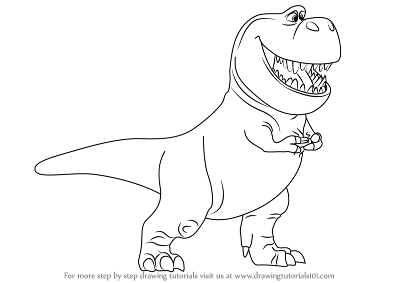 Learn how to draw nash from the good dinosaur the good for How to draw good sketches