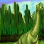 How to Draw Poppa Henry from The Good Dinosaur