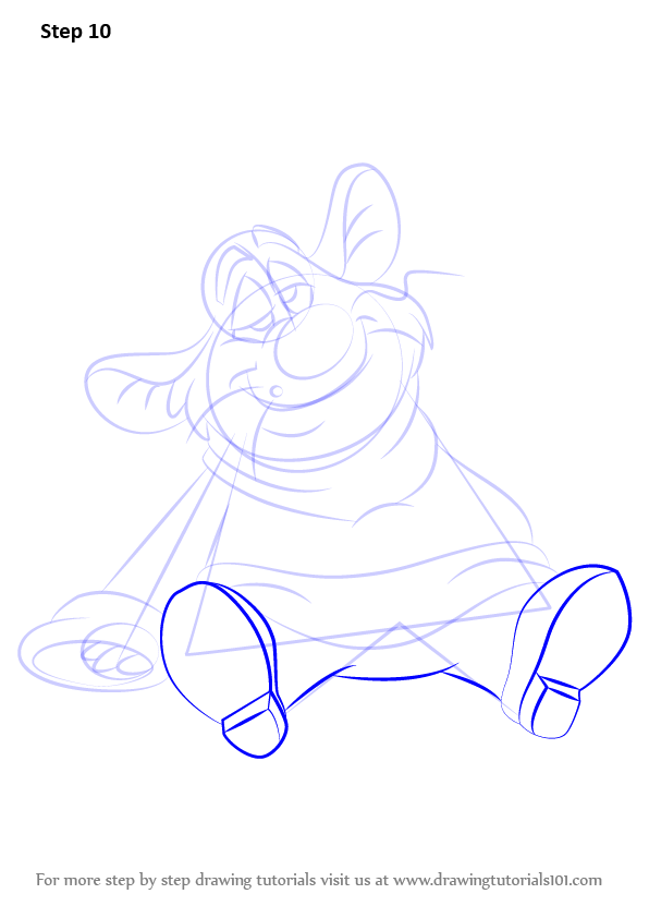 Step By Step How To Draw Bartholomew From The Great Mouse