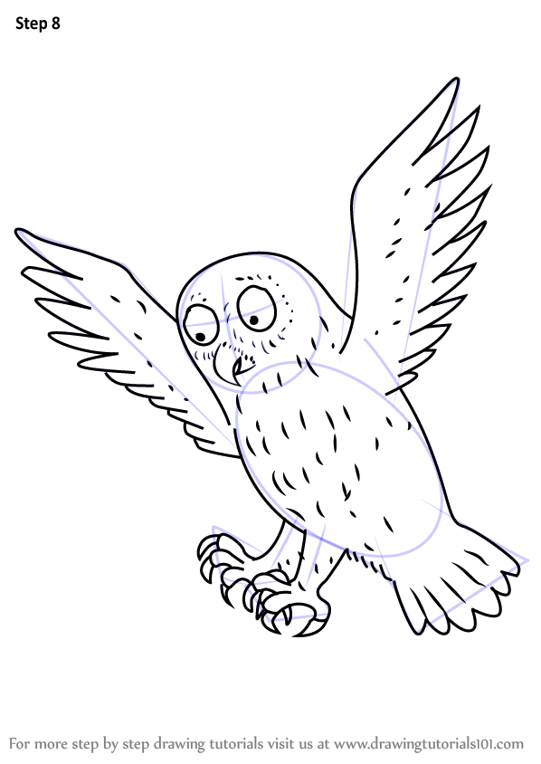 Learn How To Draw Owl From The Gruffalo The Gruffalo
