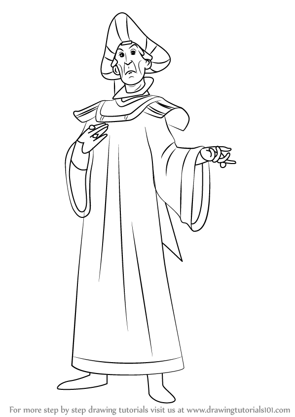 Learn How to Draw Claude Frollo