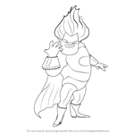 How to Draw Syndrome from The Incredibles