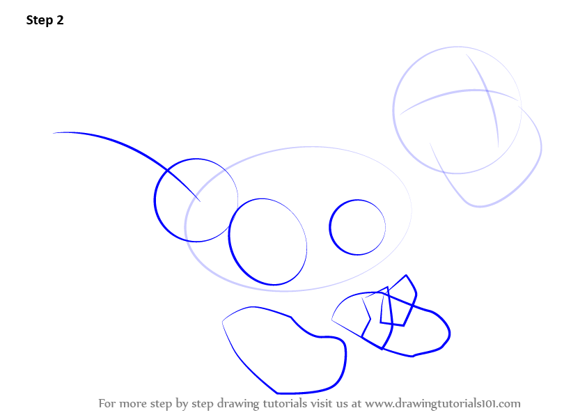 how to draw a sideon ducky