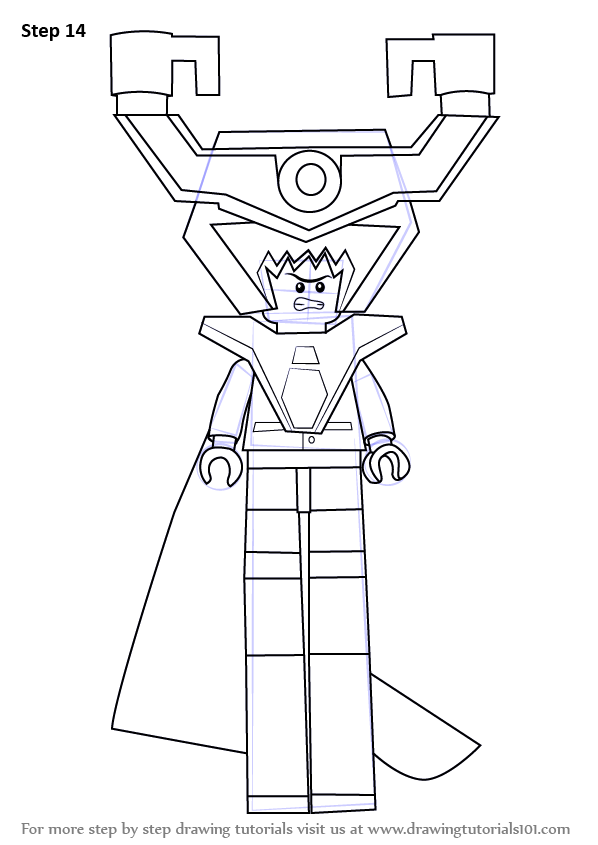 Learn How To Draw Lord Business From The Lego Movie The