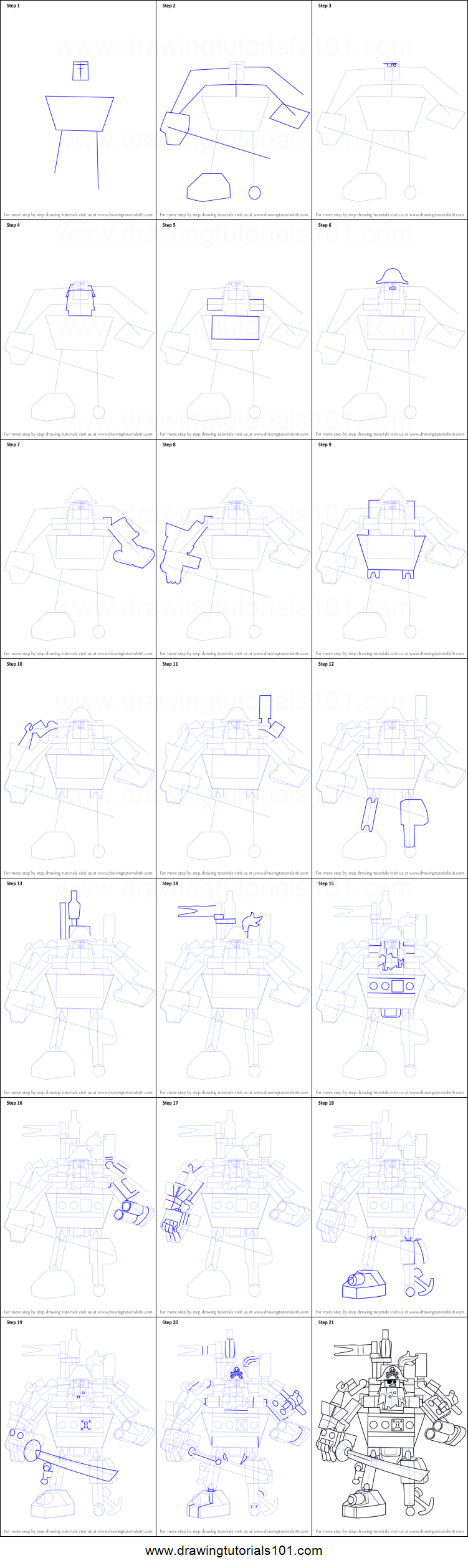 how to draw lego movie characters
