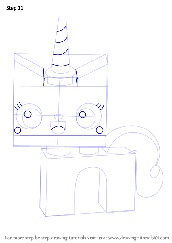 Princess Unikitty Coloring Pages : Learn how to draw princess unikitty from the lego movie