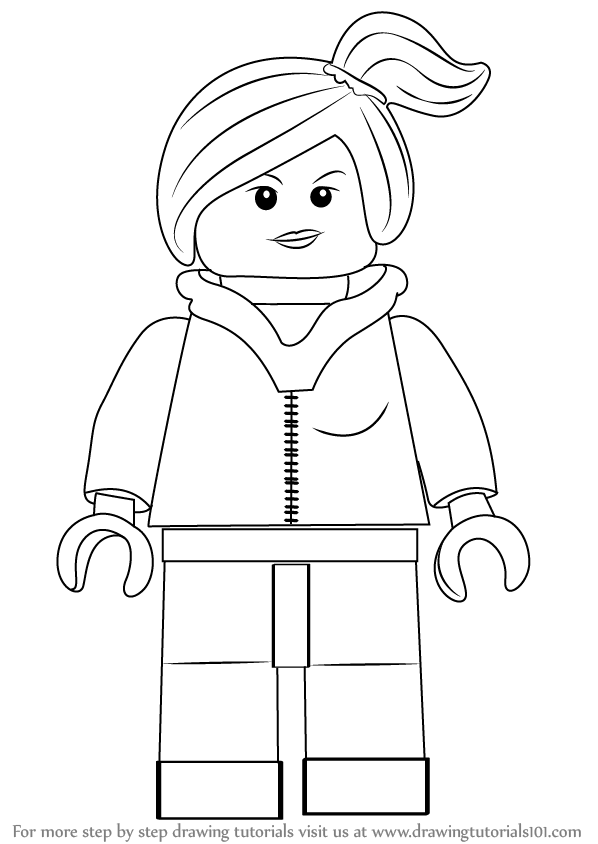learn how to draw wyldstyle from the lego movie the lego
