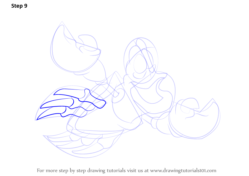 learn how to draw sebastian from the little mermaid  the