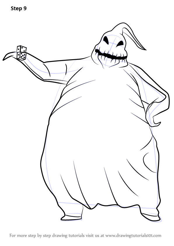 Learn How To Draw Oogie Boogie From The Nightmare Before Christmas The Nightmare Before Christmas Step By Step Drawing Tutorials Nightmare before christmas bags from danielle nicole are available now! learn how to draw oogie boogie from the