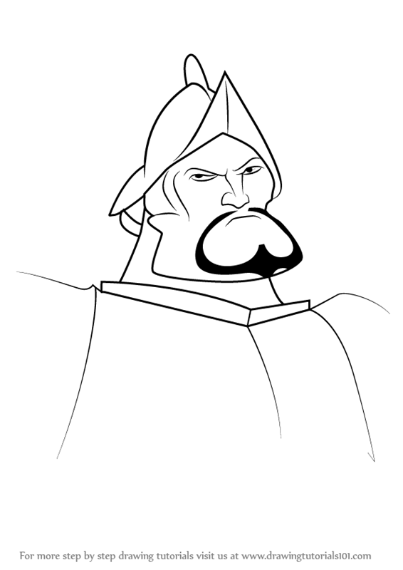 Learn How To Draw Hernán Cortés From The Road To El Dorado The Road