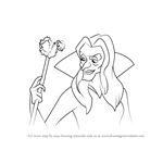 How to Draw Zelda from The Swan Princess