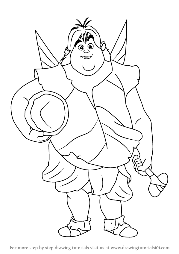 Learn How to Draw Clank Fairy from