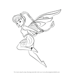 How to Draw Fawn from Tinker Bell